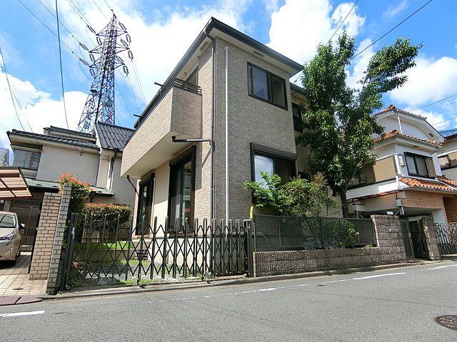 弊社で管理する西東京市南町の戸建住宅の外観です