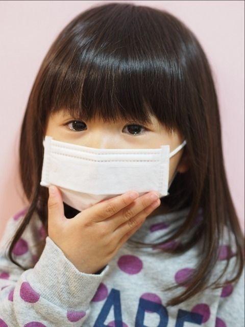 インフルエンザに罹った小学生の女の子