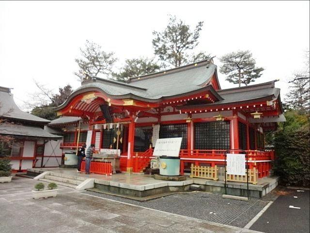 東伏見稲荷神社の本殿2(平成31年3月1日)