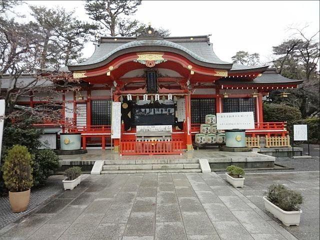 東伏見稲荷神社の本殿(平成31年3月1日)