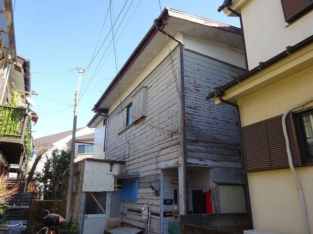 西東京市中町5丁目空き家・北側からの外観