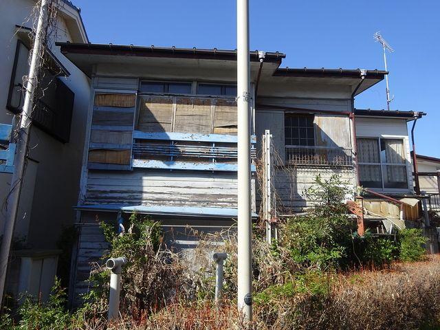 西東京市中町5丁目の空き家の外観