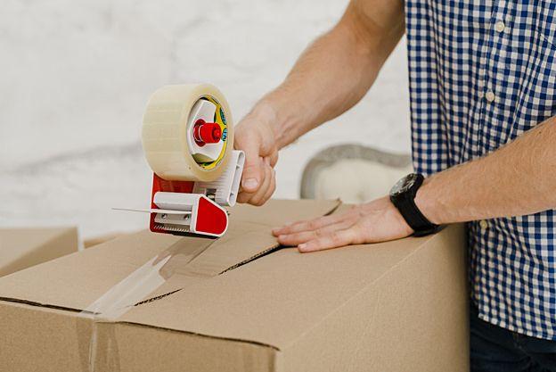 荷物の梱包イメージ おうちナビ