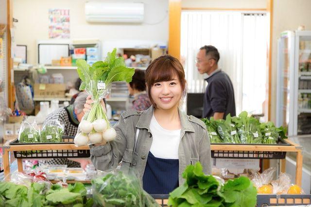 練馬区産の野菜の即売会のイメージ写真