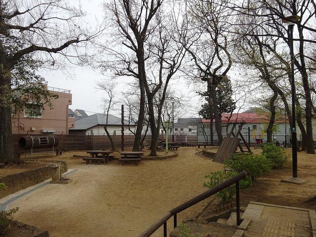 銀杏稲荷公園の様子