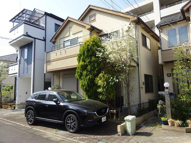 西東京市保谷町6丁目にある戸建住宅の外観