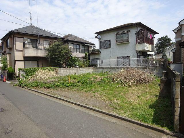 西東京市新町3丁目の土地(4月21日撮影)