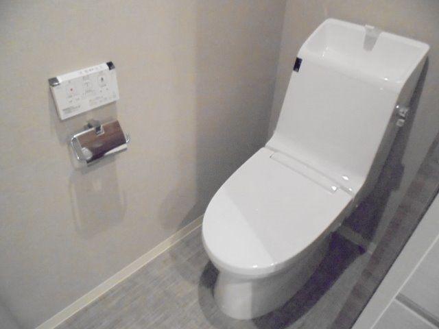 清潔感漂うトイレ