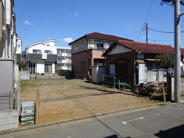 西東京市富士町5丁目の現地(3月24日撮影)