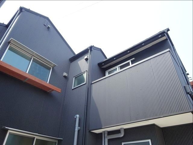 西東京市富士町1丁目の自然素材の家・外観写真
