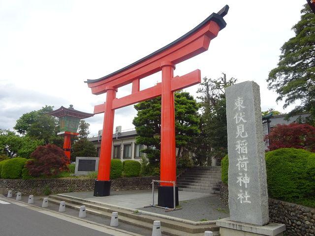 東伏見稲荷神社の鳥居