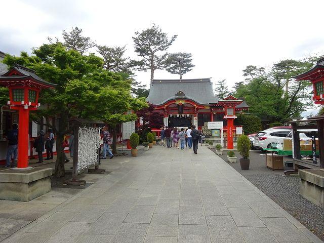 東伏見稲荷神社の参道