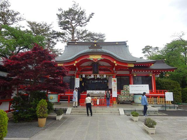東伏見稲荷神社の拝殿