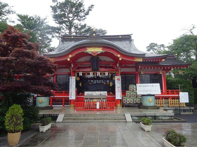 東伏見伏見稲荷神社(令和元年七月一日・雨)