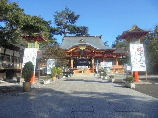 東伏見稲荷神社の境内
