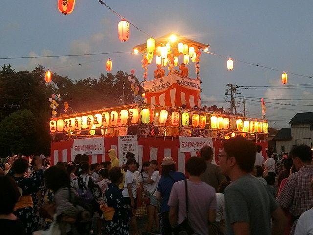 東伏見夏祭り大会2019 盆踊り大会