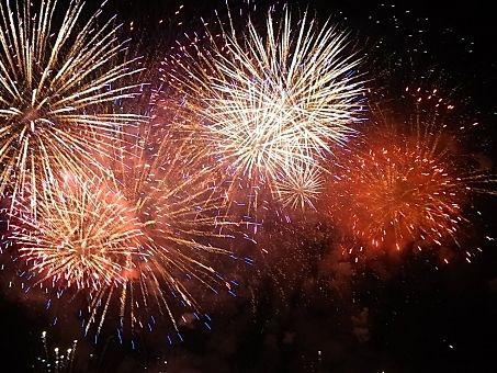 東町商栄会夏祭り・花火大会 2019の打ち上げ花火のイメージ画像