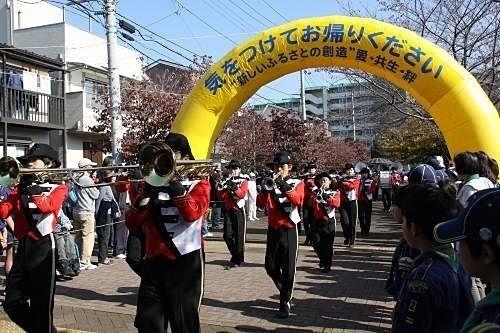 西東京市民まつりの様子(パレード)