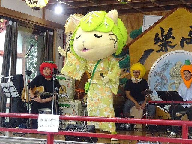 キャベッツさん七夕祭公演in田無神社