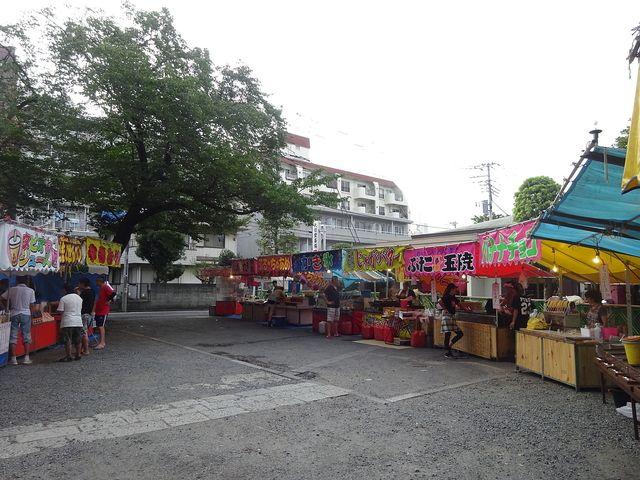 總持寺境内の露店