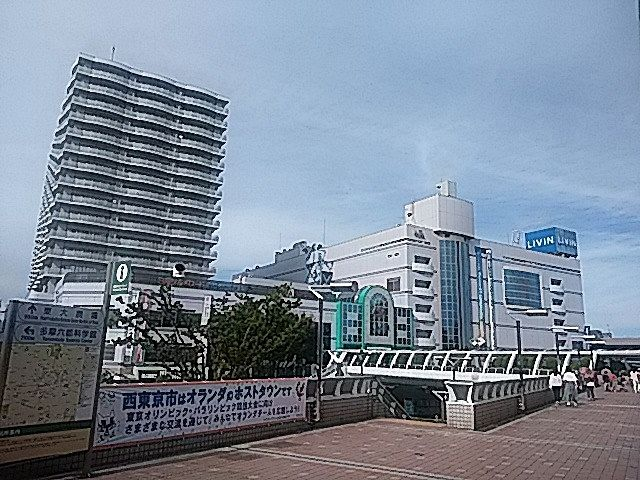 田無駅北口の様子