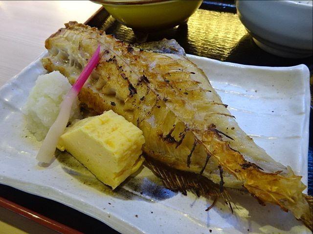 珈古屋定食(9.12)の焼魚