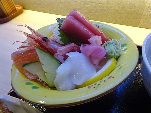 珈古屋定食(9.12)の刺身