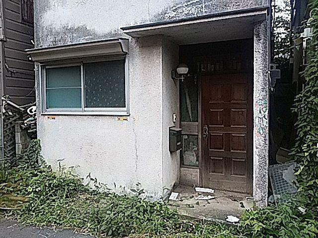 10年以上空き家のまま西東京市内の一軒家