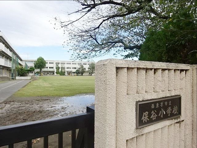 西東京市立保谷小学校の正門(2019.10.5)