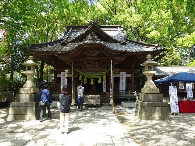 田無神社の拝殿