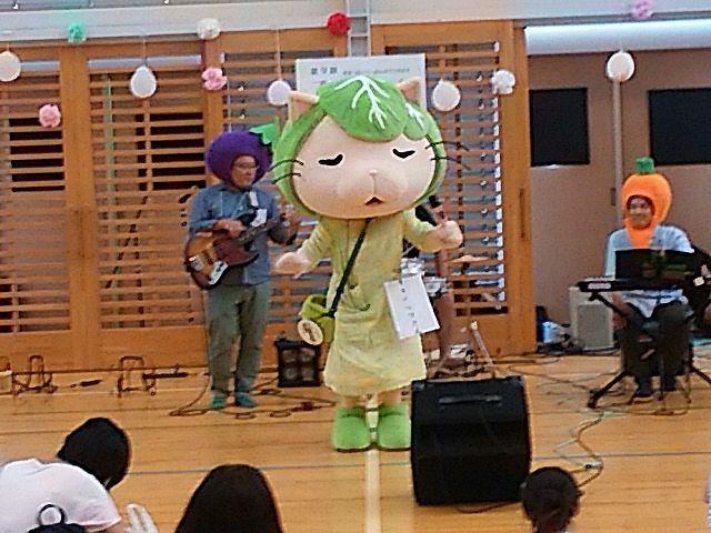 こそだてフェスタ@西東京で唄うキャベッツさん