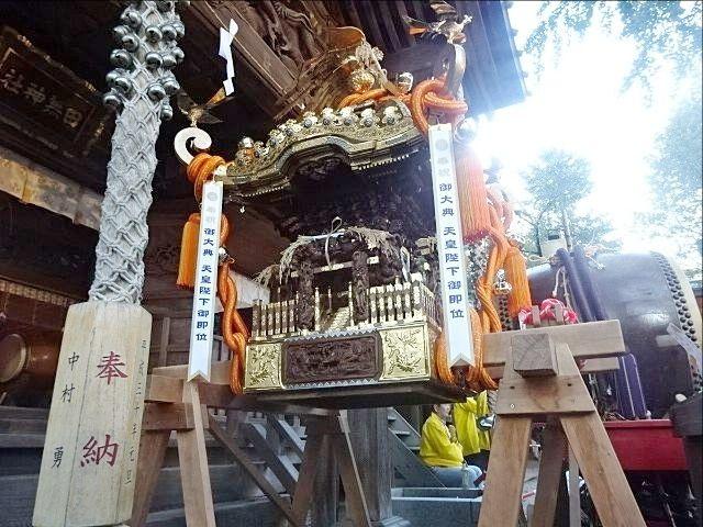 令和元年の田無神社例大祭 神輿