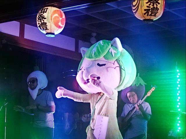 キャベッツさんin田無神社の例大祭