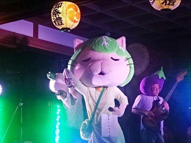 令和元年の田無神社例大祭 パプリカを唄うキャベッツさん