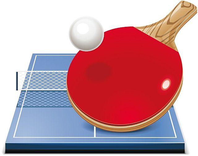 卓球のイメージイラスト