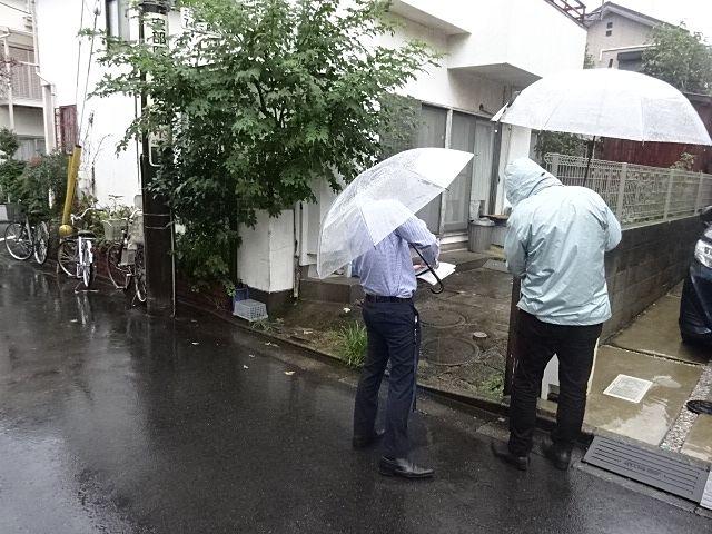 西東京市泉町の解体工事打合せ2