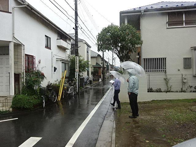 西東京市泉町の解体工事打合せ