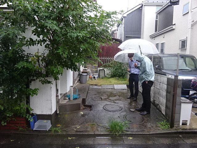 西東京市泉町の解体工事打合せ4
