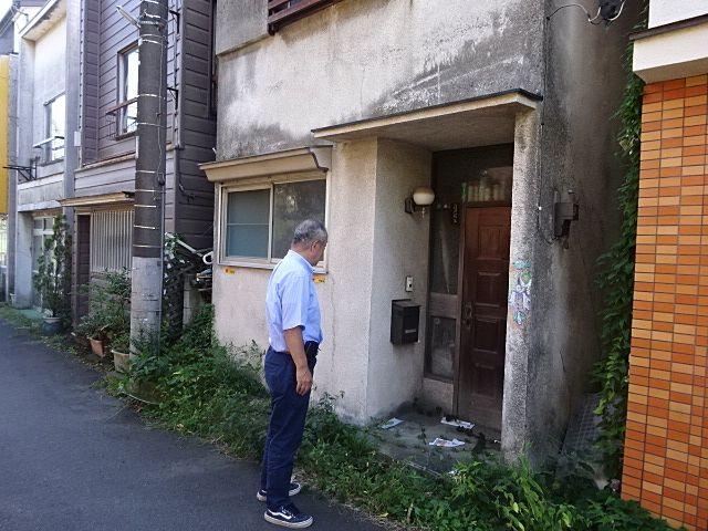 西東京市内の昭和40年代に建てられた建物の調査 1
