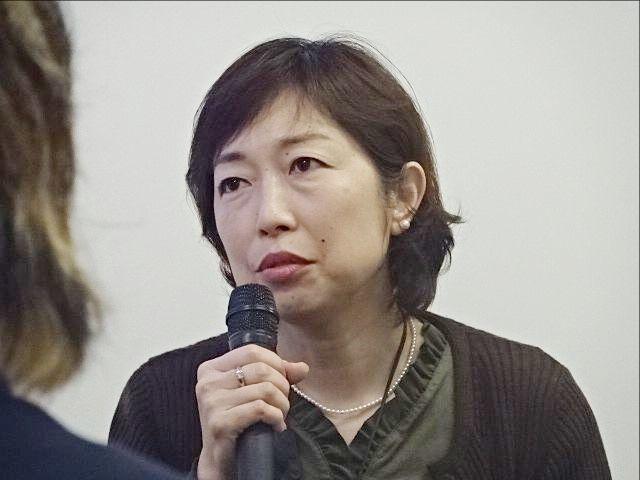 ロング朋子さん(第2回東久留米がんセミナー)スプラッシュ