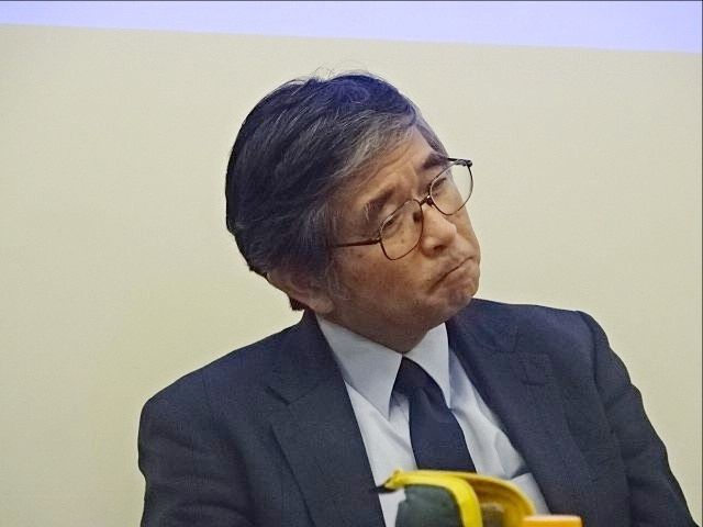 樋野興夫先生(第2回東久留米がんセミナー)スプラッシュ