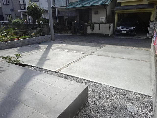 西東京市富士町5丁目新築住宅の駐車スペース スプラッシュ