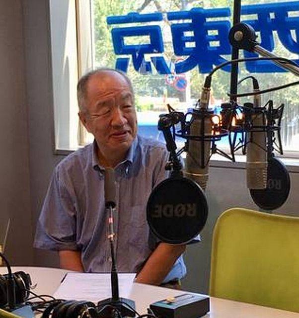 FM西東京似出演した際の写真 スプラッシュの鈴木義晴