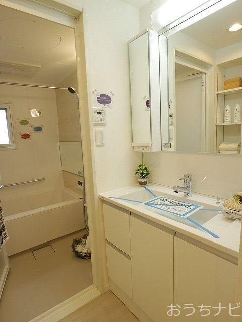 関町南パークホームズの洗面化粧台