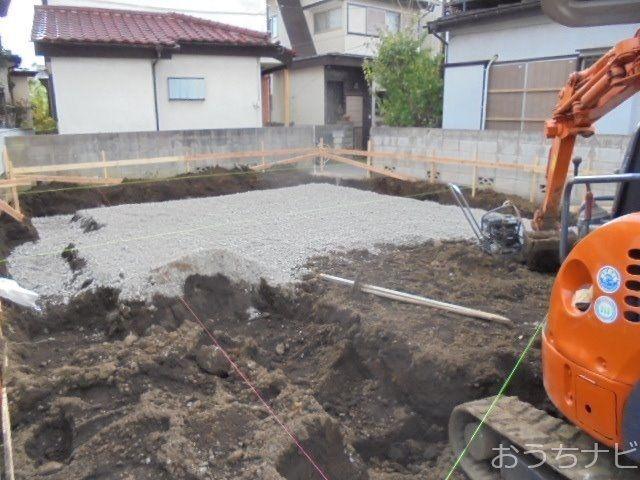 西東京市富士町3丁目新築住宅の基礎工事2
