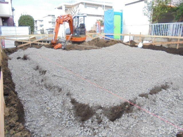 西東京市富士町3丁目新築住宅の基礎工事3
