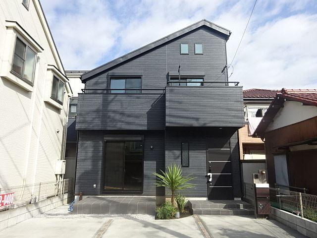 西東京市富士町5丁目新築住宅の外観 スプラッシュ