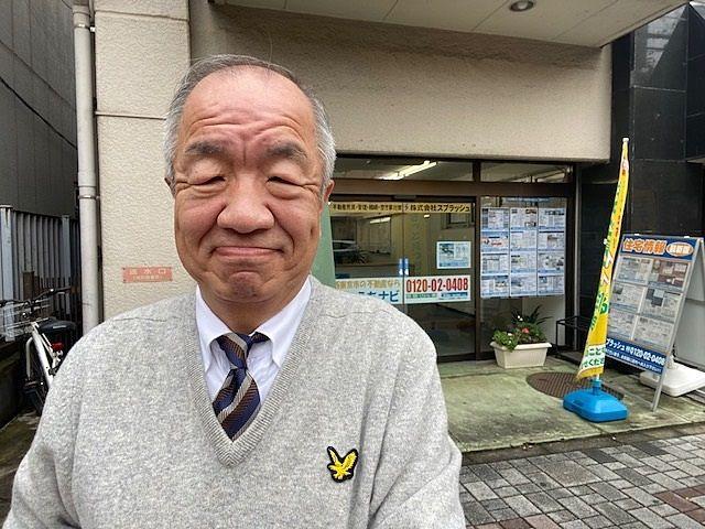 スプラッシュの代表鈴木義晴(2019.12.10店頭にて撮影)