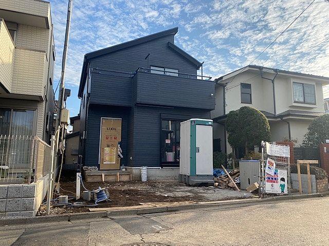 西武池袋線「保谷」駅北口8分の新築住宅の外観(2020・1・7)スプラッシュ