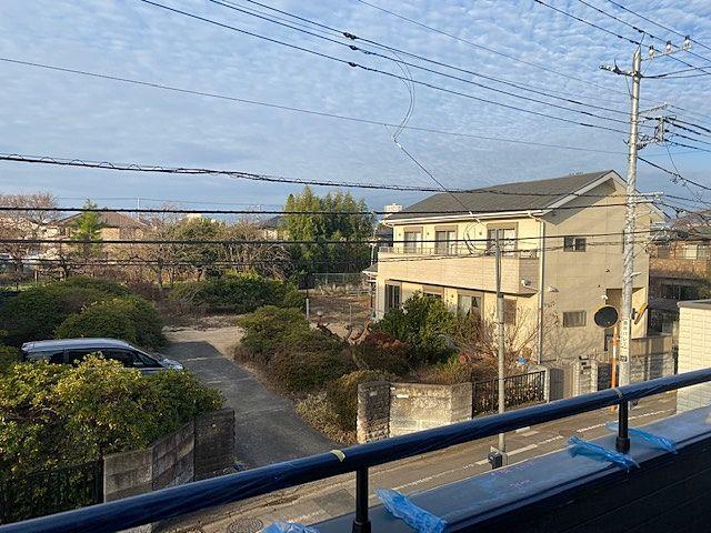 西東京市下保谷5丁目の新築住宅のバルコニーからの眺望(2020・1・7)スプラッシュ